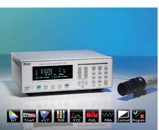 Display Color Analyzer 7123